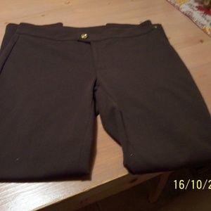 MICHAEL KORS BROWN DRESS PANTS LADIES 6